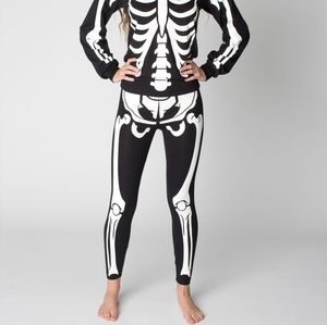 American Apparel skeleton legging 💀